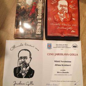 Literární cena Jaroslava Golla za rok 2016